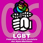 logo Commission LGBT du PS